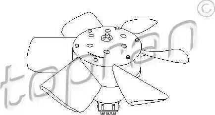 Topran 102 548 - Ventilaator,mootorijahutus japanparts.ee