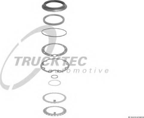 Trucktec Automotive 01.32.017 - Tihendikomplekt, väline planetaarülekanne japanparts.ee