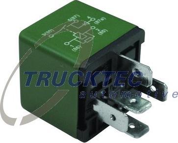Trucktec Automotive 02.42.353 - Relee, nivooreguleerimine japanparts.ee