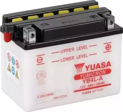 Yuasa YB4L-A - Käivitusaku japanparts.ee